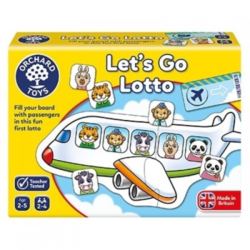Joc educativ - Hai sa Mergem - LET'S GO LOTTO - Orchard Toys
