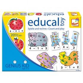 Joc educativ - Joaca si Numara - Bino