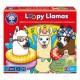 Joc educativ Lame cu colaci - Loopy Llamas - Orchard Toys