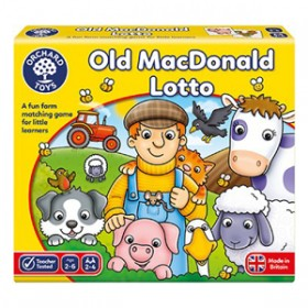 Joc educativ Loto - Old MacDonald Lotto - Orchard Toys