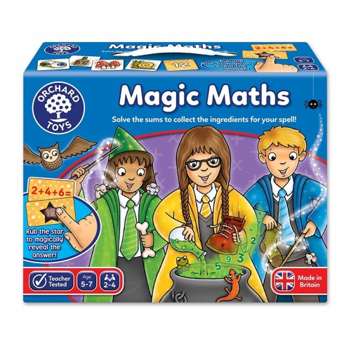 Joc educativ Magia Matematicii - MAGIC MATH - Orchard Toys