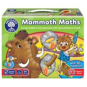 Joc educativ Matematica Mamutilor - Mammoth Math - Orchard Toys