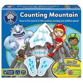 Joc educativ Numaratoarea Muntelui - COUNTING MOUNTAIN - Orchard Toys