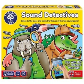 Joc educativ Sunetul Detectivilor - SOUND DETECTIVES - Orchard Toys