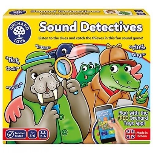 Joc educativ Sunetul Detectivilor - SOUND DETECTIVES - Orchard Toys