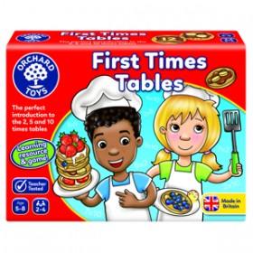 Joc educativ Tabla inmultirii pentru incepatori - First Times Tables - Orchard Toys