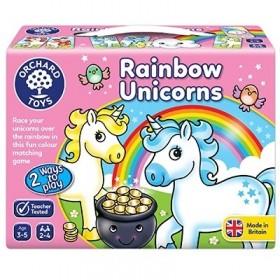 Joc educativ Unicornii Curcubeu - Rainbow Unicorns - Orchard Toys