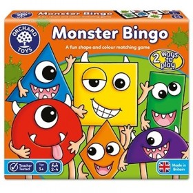 Joc educativ bingo Monstruletii - Monster Bingo - Orchard Toys