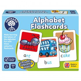 Joc educativ in limba engleza - Alphabet FlashCards - Orchard Toys