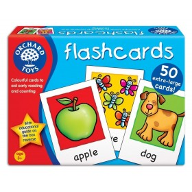 Joc educativ in limba engleza Cartonase - FlashCards - Orchard Toys