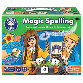 Joc educativ in limba engleza Silabisirea Magica Magic Spelling - Orchard Toys