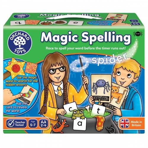 Joc educativ in limba engleza Silabisirea Magica Magic Spelling - Orchard Toys