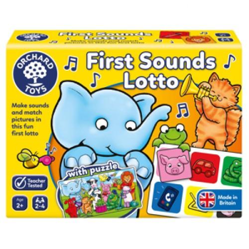 Joc educativ loto Primele sunete First Sounds Lotto - Orchard Toys