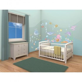 Kit Decor Baby Under the Sea - Walltastic
