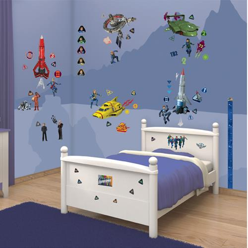 Kit Decor Walltastic - Thunderbirds Are Go