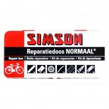 Kit de reparatie bicicleta, pentru 12 reparatii - Simson
