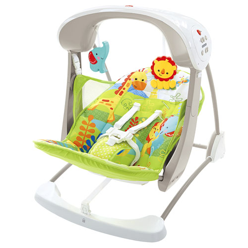 Leagan 2 in 1 Rainforest Friends Take Along Fisher Price