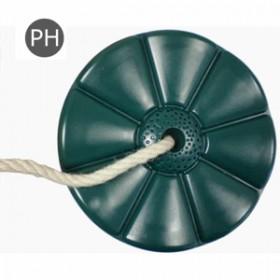 Leagan rotund din plastic PP10 - Monkey - verde - KBT