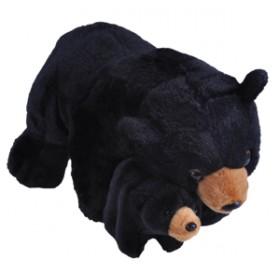 Mama si Puiul - Urs Negru - Jucarie Plus Wild Republic 38 cm