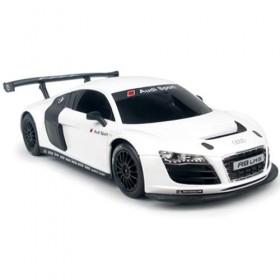 Mașină Audi R8 1:24 Alb radiocomandată Rastar