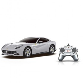 Mașină Ferrari F12 California 1:24 Gri telecomandă Rastar