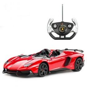 Mașină Lamborghini Aventador J 1:12 Rosu Rastar