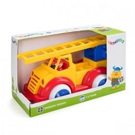 Masina Pompieri cu 2 figurine - Super - Viking Toys