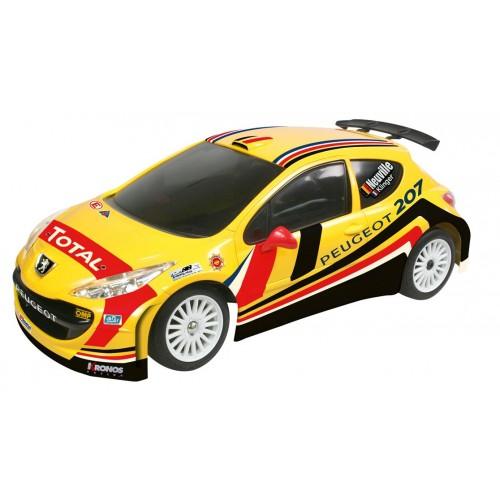 Masina cu telecomanda Peugeot 207 IRC Belgium 1:16 RC - Nikko