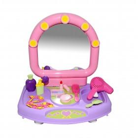 Masuta infrumusetare cu oglinda si accesorii - Polesie Wader