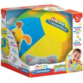 Minge muzicala pentru bebelusi, cu sunete de animale - Clementoni