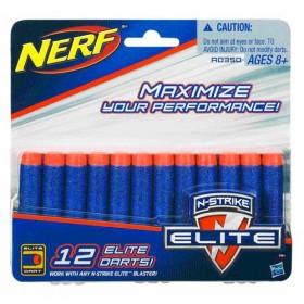 Nerf Munitie Pachet 12 Clip System - Hasbro