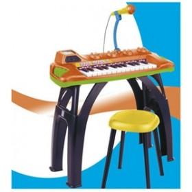 Orga electronica ODISEA cu microfon si scaunel