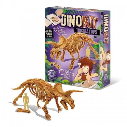 Paleontologie - Dino Kit - Triceratops - Buki