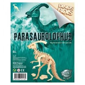 Paleontologie - Dinozaur din lemn Parasaurolophus - Buki