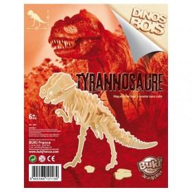 Paleontologie - Dinozaur din lemn Tyrannosaurus - Buki