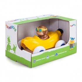Pilot de curse Maimuta in Masinuta Banana - Cute Racer - Viking Toys