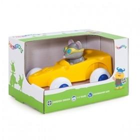 Pilot de curse Soricel in Masinuta Cascaval - Cute Racer - Viking Toys