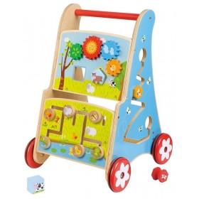 Premergator cu activitati 7 in 1 Lelin - New Classic Toys