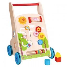 Premergator cu activitati Lelin - New Classic Toys