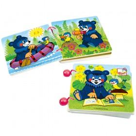 Prima mea carte din lemn cu ursuleti - Bino