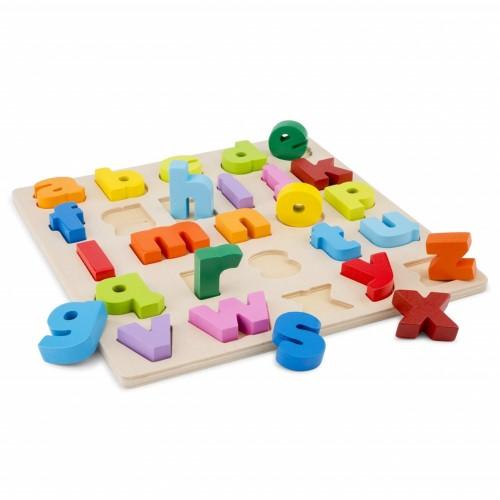 Puzzle Alfabet Litere Mici - New Classic Toys