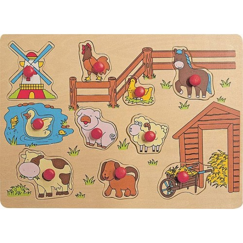 Puzzle Animale domestice Woody