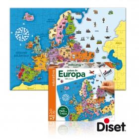 Puzzle Europa - Diset
