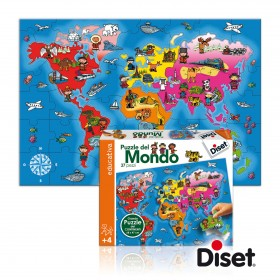Puzzle Lumea - Diset