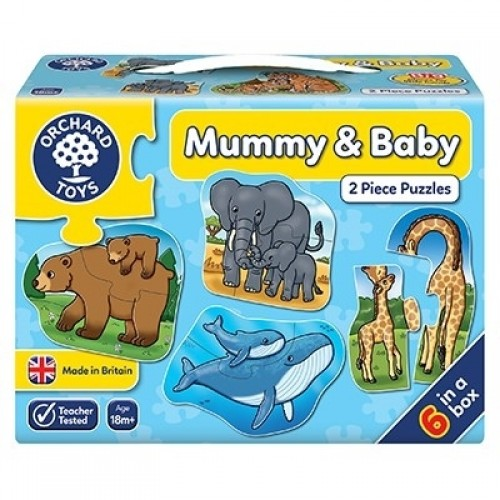Puzzle Mama si Copilul MUMMY AND BABY - Orchard Toys