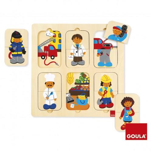 Puzzle - Meserii - Goula