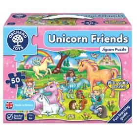 Puzzle Prietenii Unicornului - Unicorn Friends - Orchard Toys