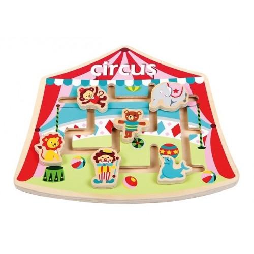 Puzzle labirint La Circ - New Classic Toys