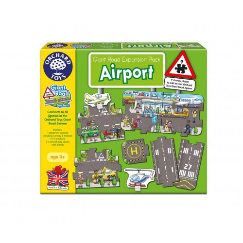 Puzzle podea Aeroportul - Giant Road Expansion Pack Airport - Orchard Toys