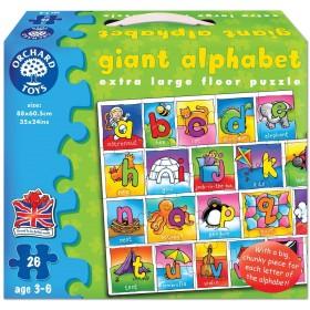 Puzzle podea Alfabetul (engleza) - Giant Alphabet - Orchard Toys